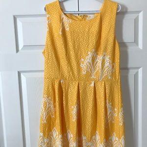 New York & Company yellow dress, worn once
